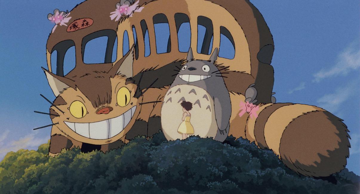 Satsuki in Tonari no Totoro